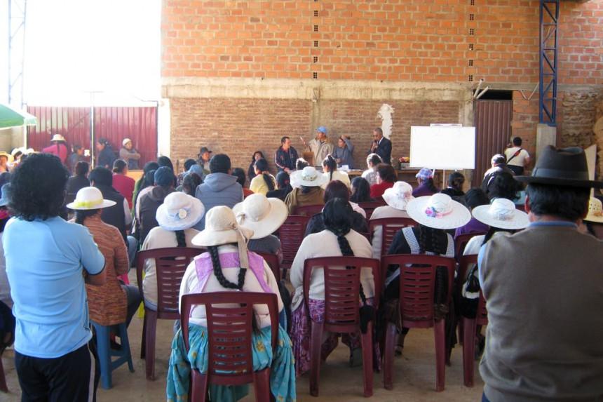 Συνέλευση της κοινότητας María Auxiliadora ετοιμάζονται να εκλέξουν εντολής τους
